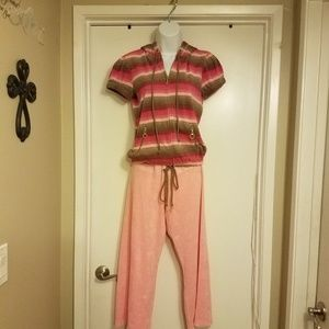 NWT Juicy Couture terry track outfit